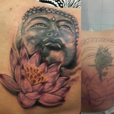 budha réalism /coverup