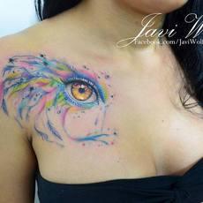 Javi Wolf tattoo masterpieces