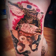 Gremlins Tattoo Gizmo and company Emanuele Pers...