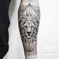 By RO. Robert Pavez • Lion IV - Geometrics do...