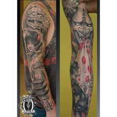 Oriental full sleeve