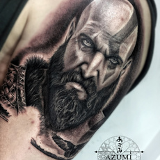 God of war in process