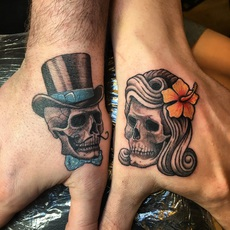 Mr and Lady Skull