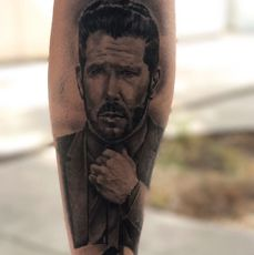 Retrato Cholo Simeone