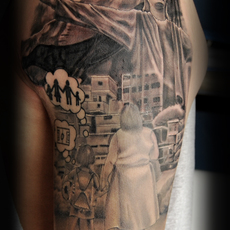 Cali , Colombia, Josep Juarez, Doble J Tattoo,...