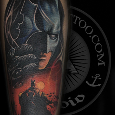 Batman #tattoo #batman #batmantattoo #tatuaje #...