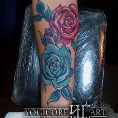 Roses neotraditional