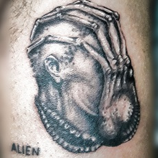 Alien, Giger picture.