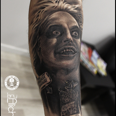 Beetlejuice Sabadell tattoo convention 2017