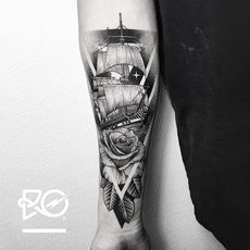 By RO. Robert Pavez • Rose & Old Ship •