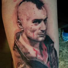 Travis bickle tattoo