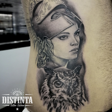 Tattoo atenea
