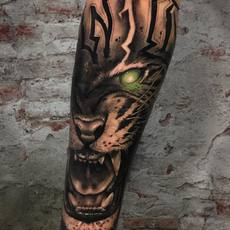 Eye of the tiger - Franky Lozano Tattoo