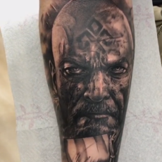 Franky Lozano Tattoo - Viking