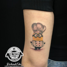Tatuaje MINIONS, tattoo minion