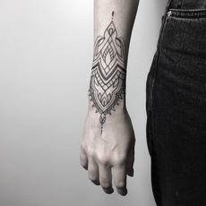 Mendhi art bu dulah tattoo