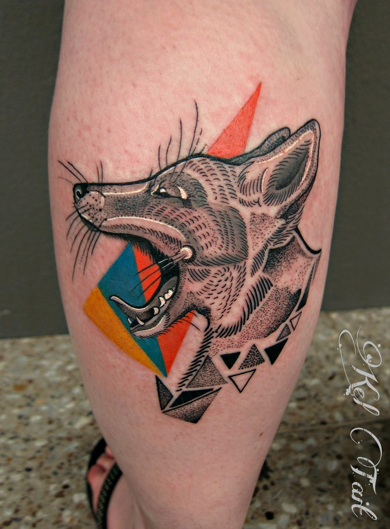 Tattoo by Kel Tait