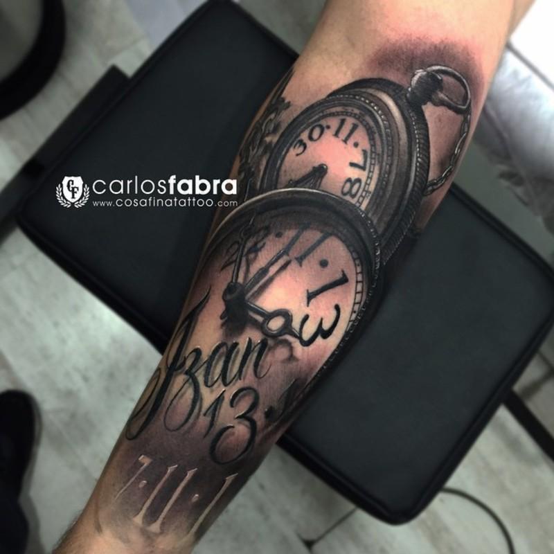 Tatuaje Carlos carlos fabra