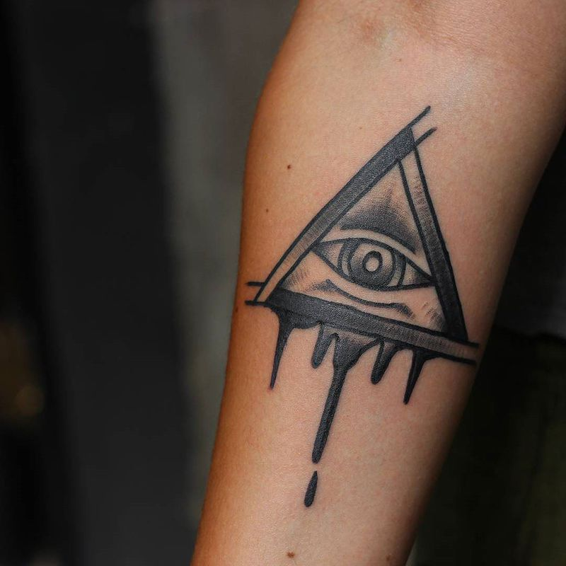 Satanic symbols pictures pictures to pin on pinterest for Baphomet tattoo meaning