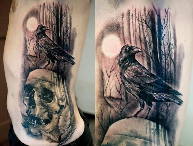 calavera & cuervo ·