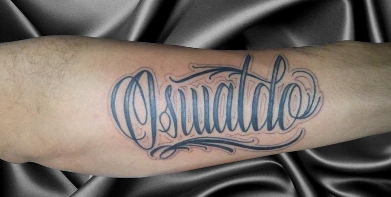 letras tatuaje