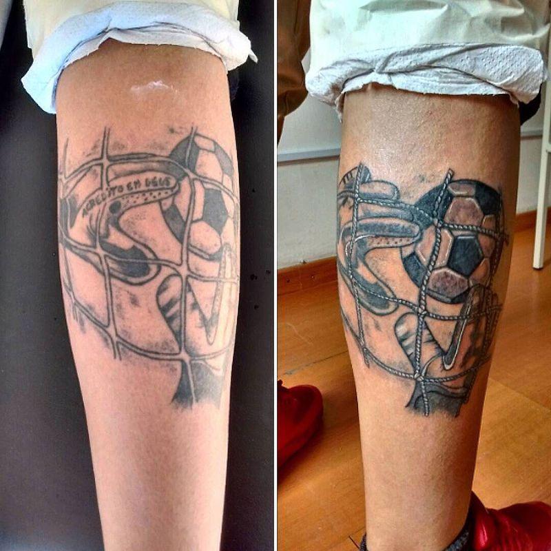 Tatuajes Futboleros ignacio jesus zamorano riquelme