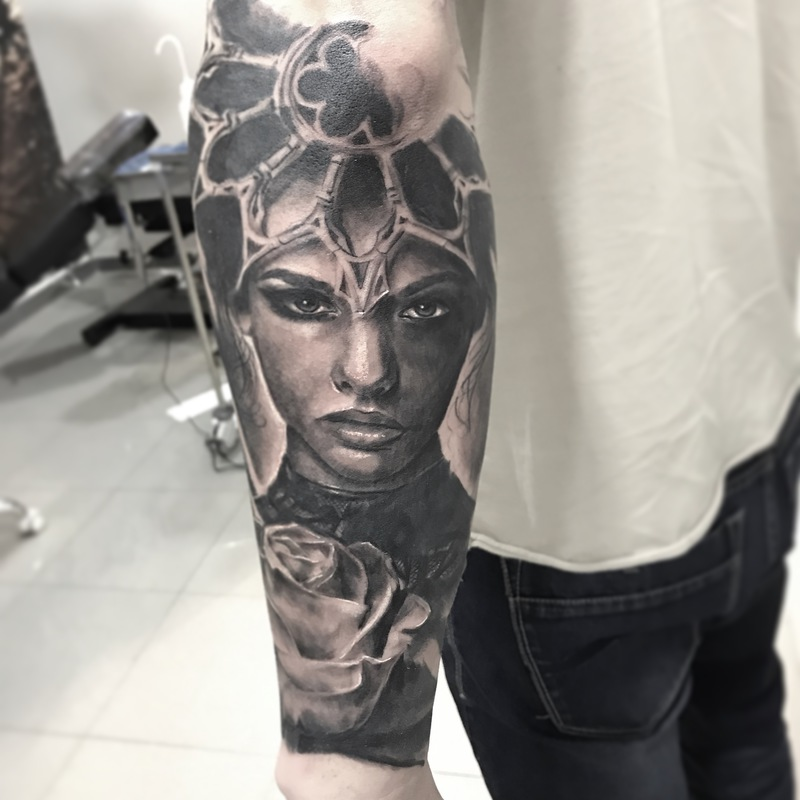 Tattoo by Cecilio Mateos Rubio