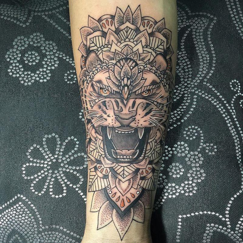 Tigre mandala - Mandalas de tigres ...