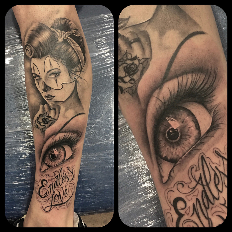 Tattoo by Daniel Sanchez