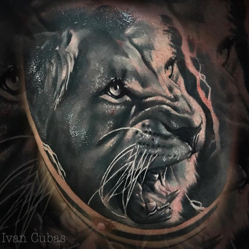 Tattoo by Iván Cubas