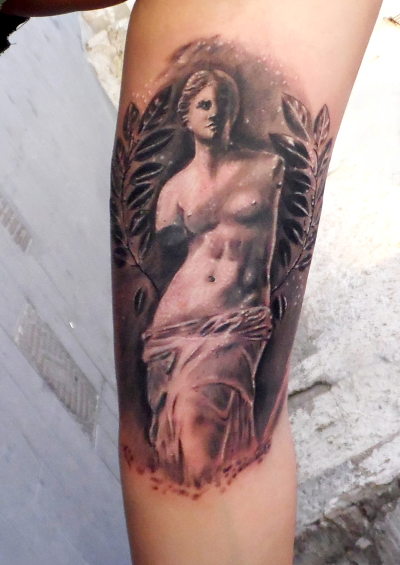Tattoo by sergio valle rabinad