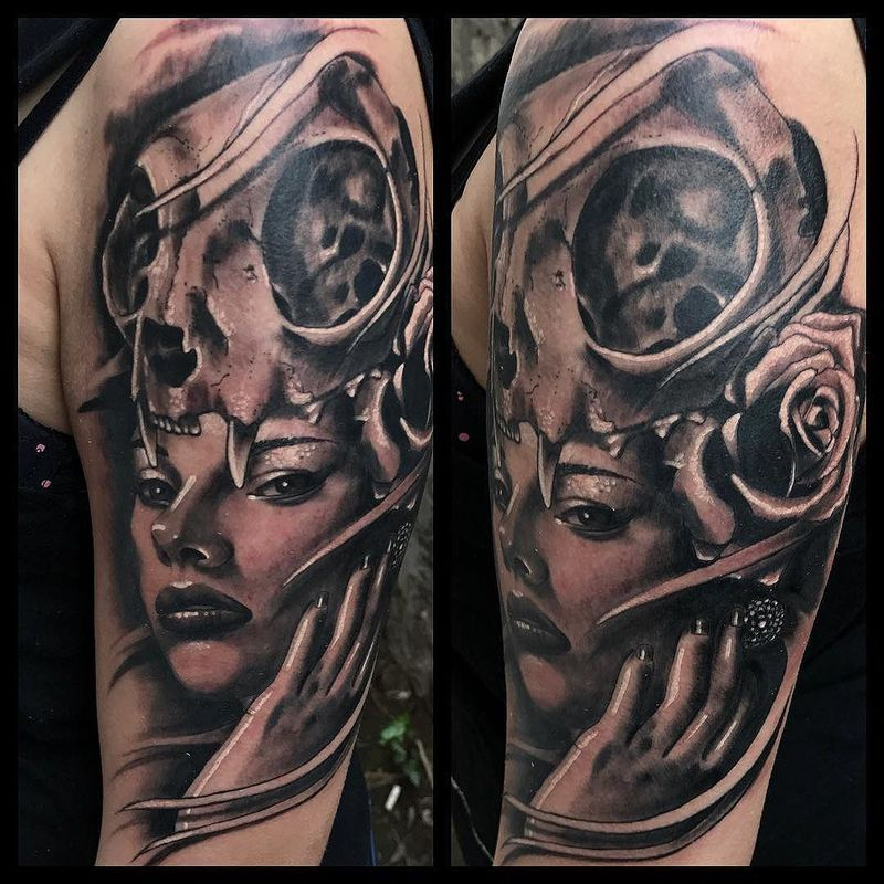 Tattoo by Diego Emmanuel