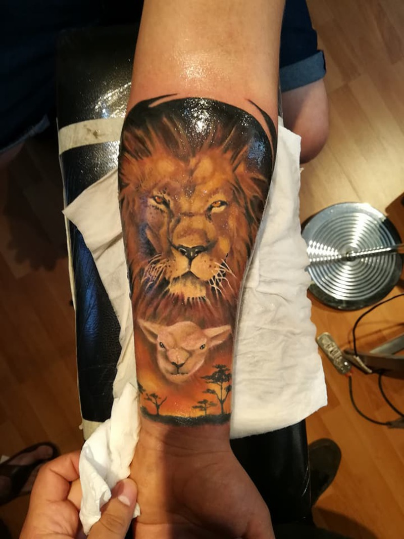 Tattoo by Marco Andres Molina Dominguez