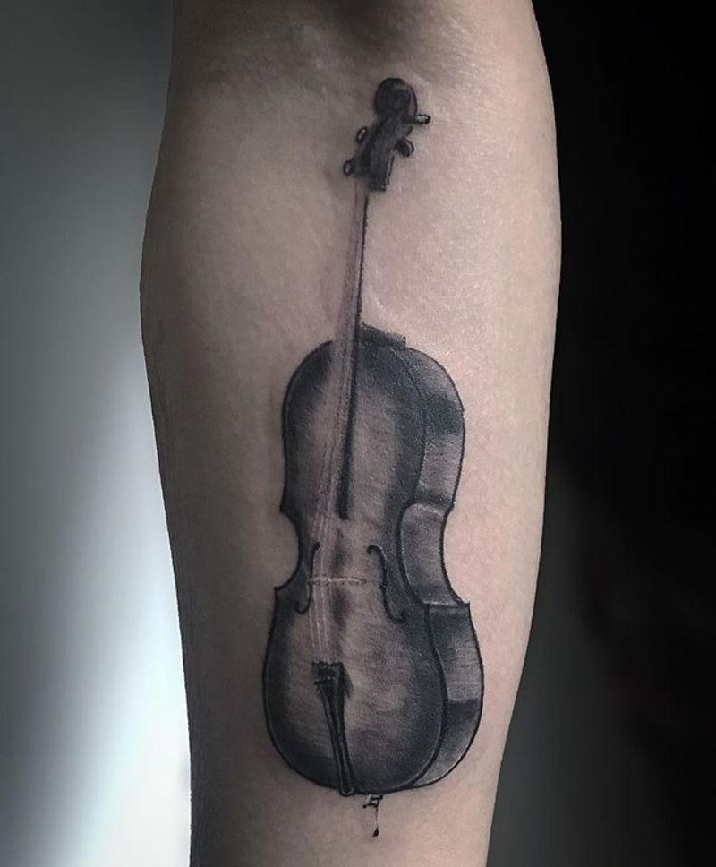 Imagenes Tatuajes Violin benjamin castañon alvarez
