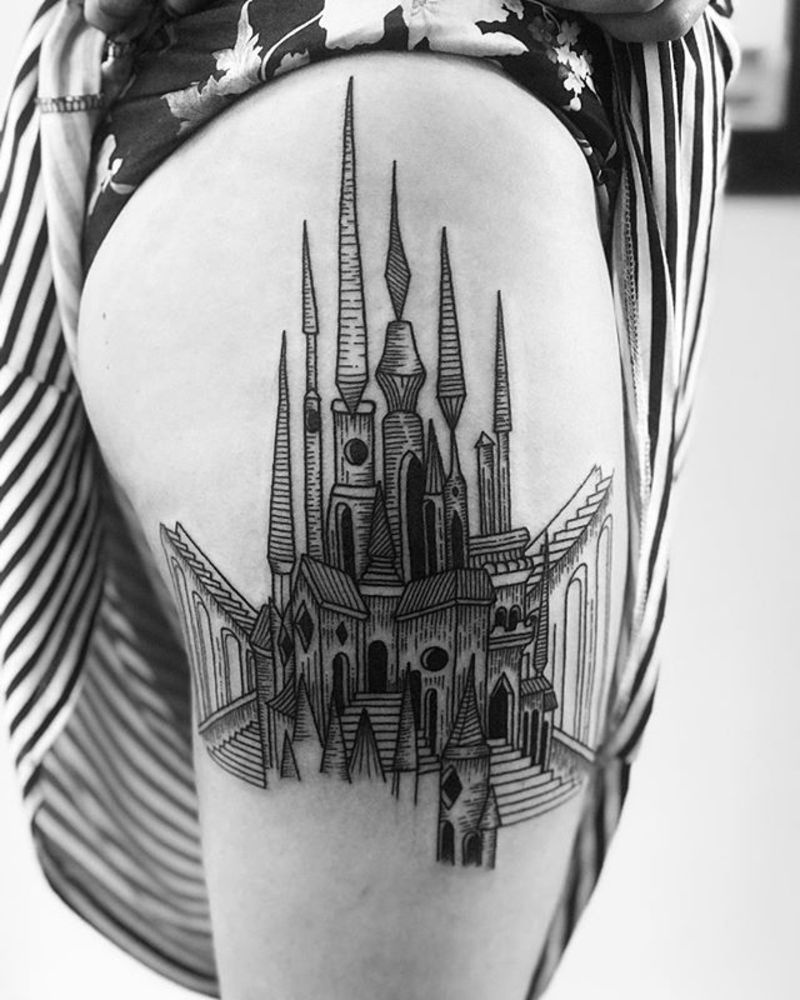Tattoo by Andrés García