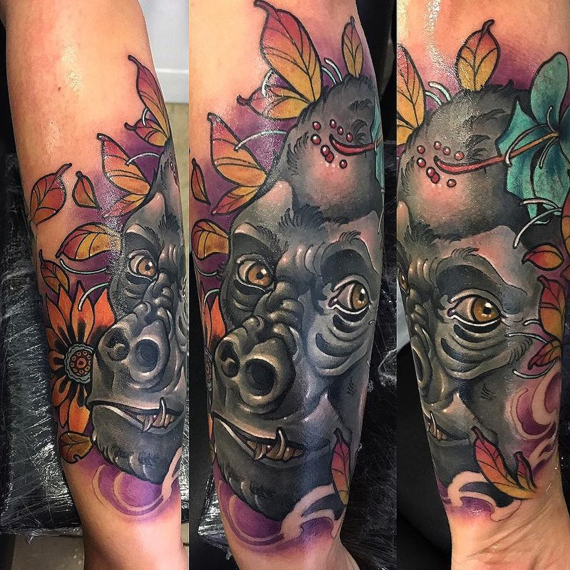Tattoo by Kuru