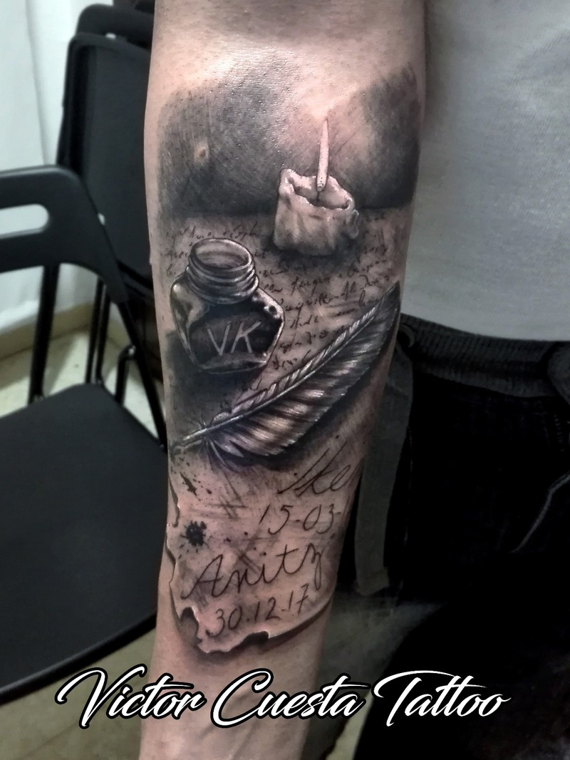 Tattoo by Victor Cuesta