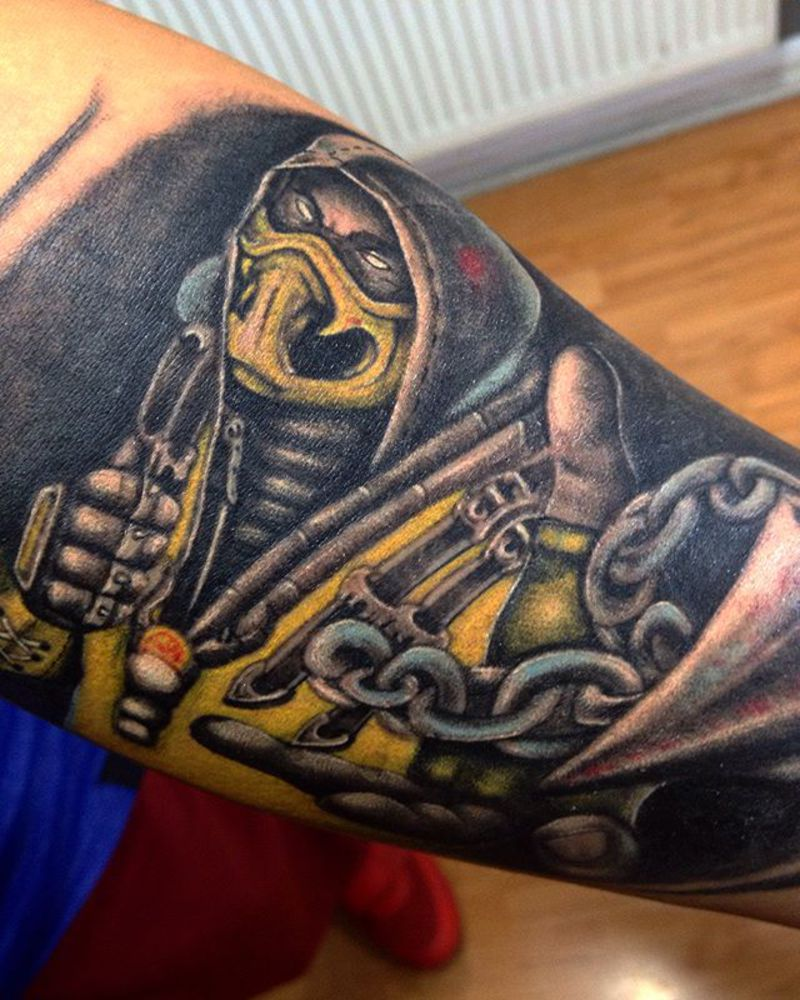 Tattoo by Will Skillz