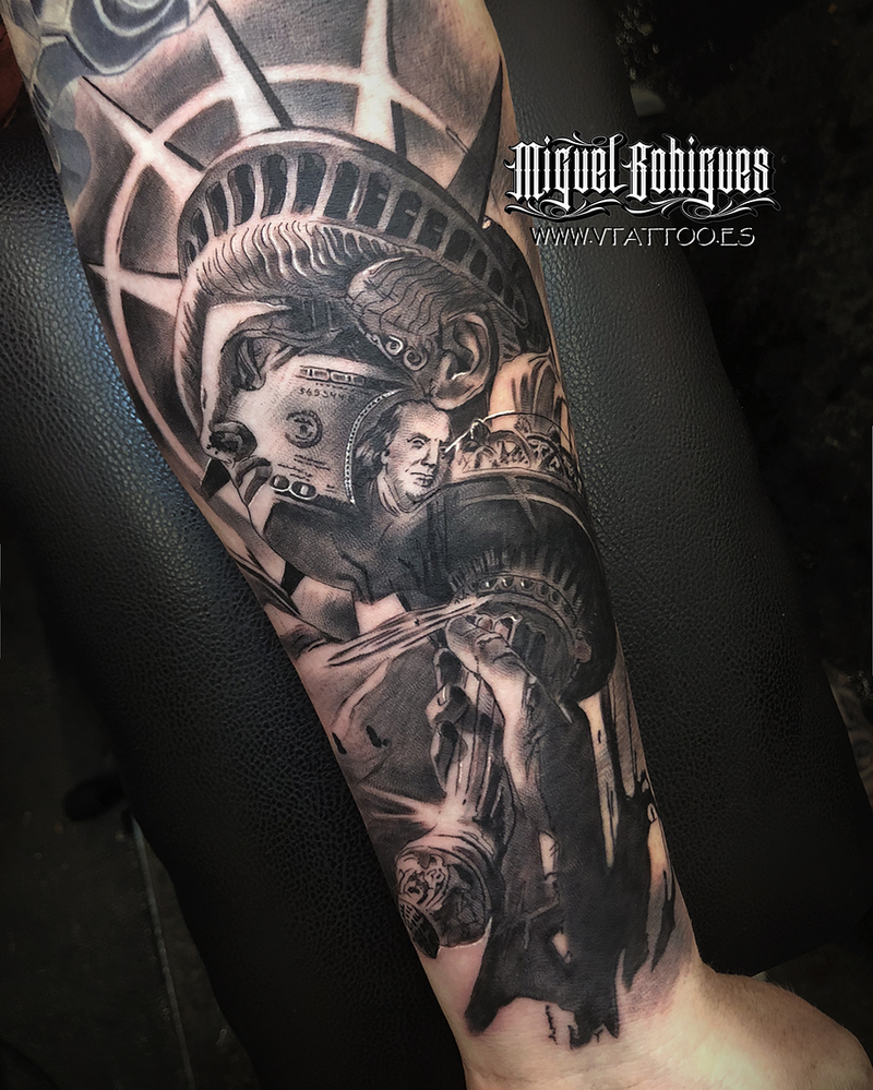 Tattoo by Miguel Bohigues
