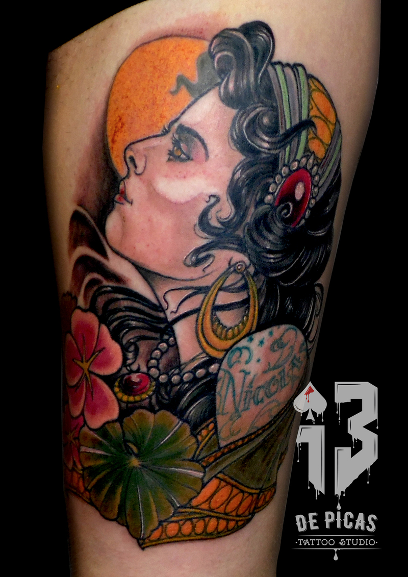 Tattoo by ♠13dePicas.com♠ Tattoo Piercing & Shop