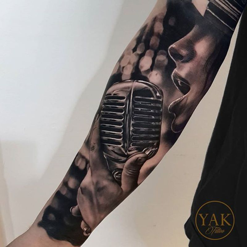 Tattoo by Robert Yakovlev