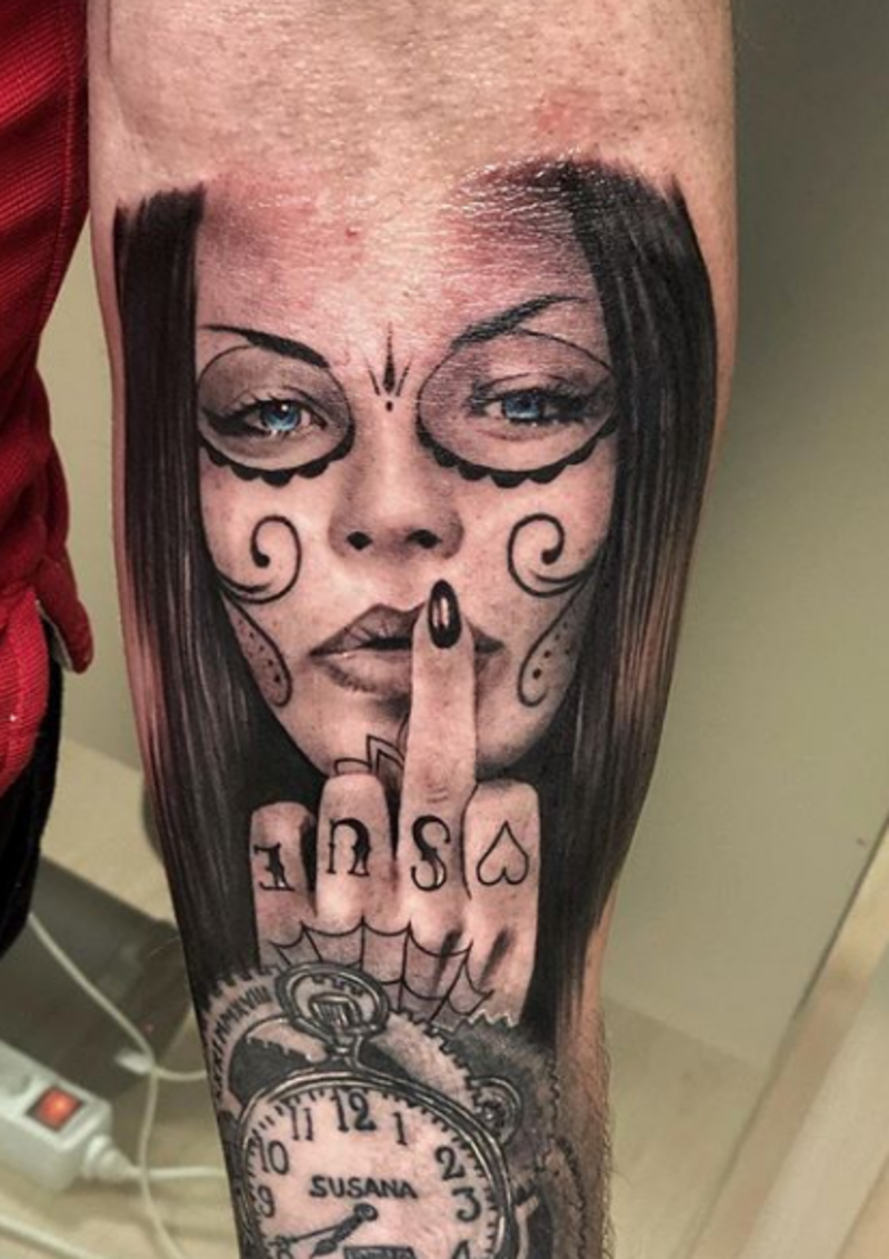 Tattoo by Jackson Ramirez