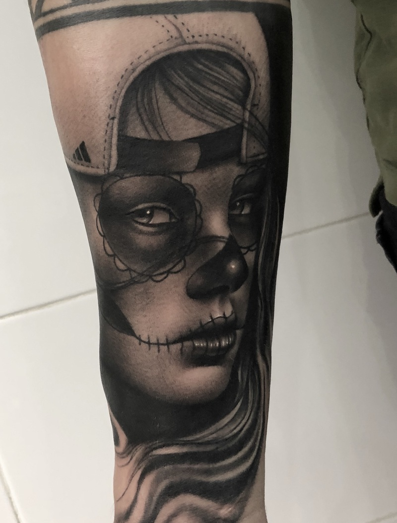 Tattoo by Víctor Mané
