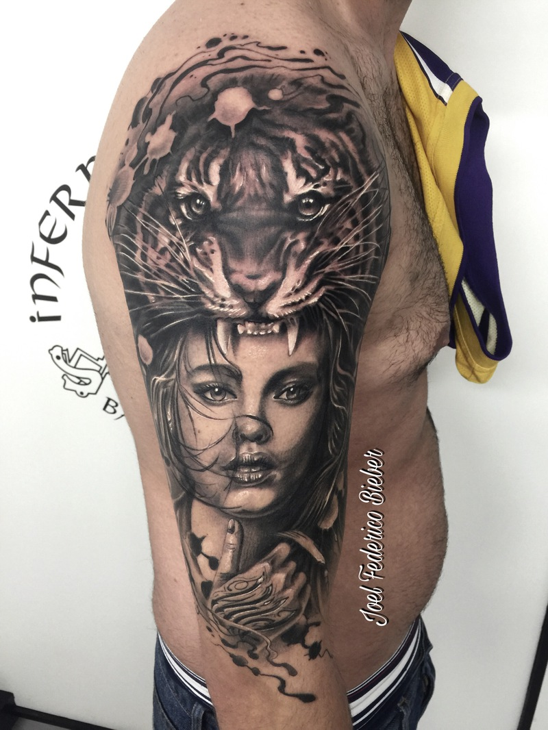 Tattoo by Joel Bieber